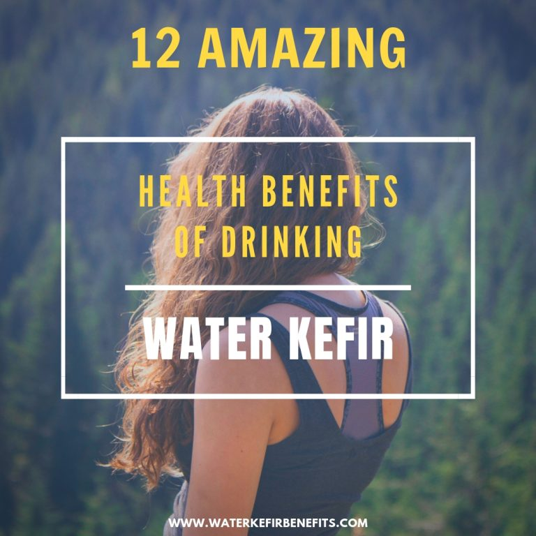 12 Amazing Health Benefits of Drinking Water Kefir