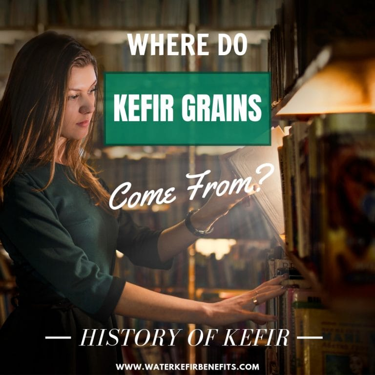 Milk Kefir History - Where do Kefir Grains Come From
