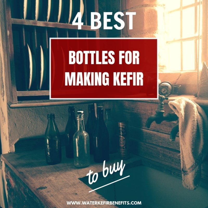 4 Best Bottles for Making Kefir to Buy.